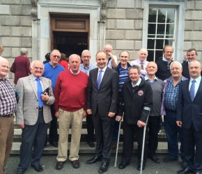 The Artane Mens Shed visits Leinster House