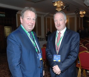 At the 2016 FF Brexit conference with Danny Kinahan MP