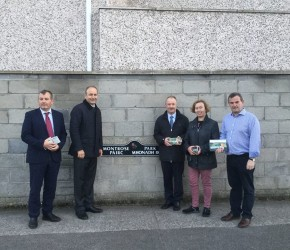 Canvassing with Micheál Martin in Dublin Bay North