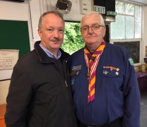 50th Anniversary of the 92nd St. Anthony's Clontarf Scout Group with Aidan Smith