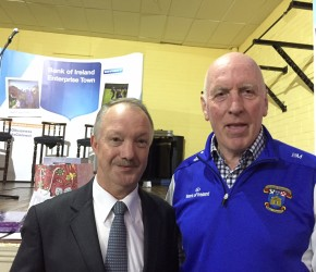 With Brian Mullins at the Fairview/Marino Business and Community Expo