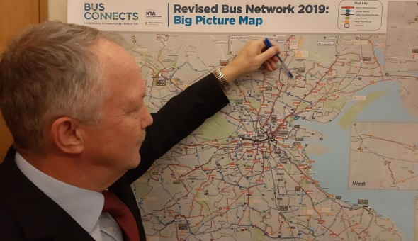 Bus Connects Map Study