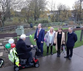 The Sensory Garden Edenmore is formally opened