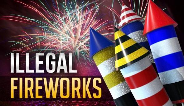 Fireworks - Illegal